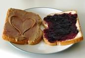 PB&J= Peanut Butter + Jelly
