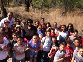Taking a Picture Break from Our Tour at the Morongo Preserve