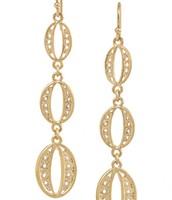 Kimberly Drop Earrings- Gold