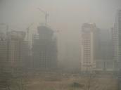 Un ciudad de la contaminación