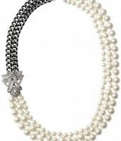 Daisy pearl necklace $64