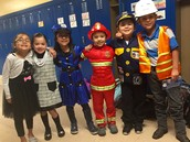 """Dress for Success Day"" Our parents were very creative and supported our activities."