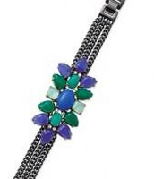 Peacock (hematite) bracelet