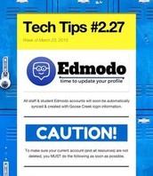 Edmodo Account Update