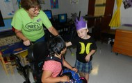 We all enjoyed a chance to be a King or a Queen!