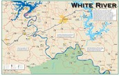 A map about the White River