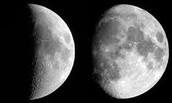 The moon is like a shadow