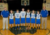JV 6th Grade Basketball Team