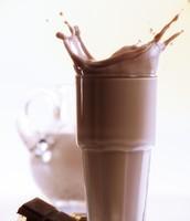 leche con chocolate 0.99$