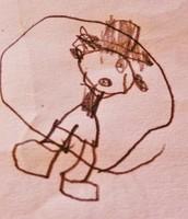 disegno della figura umana - anni 5