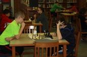 Chess Club Tests Their Skills