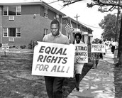 Some people that were famous in the civil rights movement