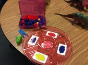Fine Motor and Colors with Clips and Pom-Poms