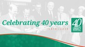 Celebrate 40 Years of Serving You!