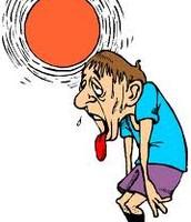 temperatures rising