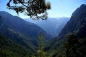 The Samariá Gorge
