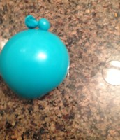 Water in balloon