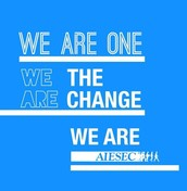 'WE ARE ONE. WE ARE THE CHANGE'