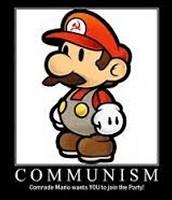 Mario is also pro-communism