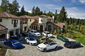 My house and cars.