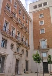 Palacio de Justicia en calle Tomás Heredia