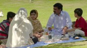 Malala Enjoying time with her family.