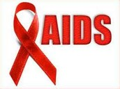some symptoms  of aids is...