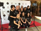 Team unity week! Bringing light to The fashion industry in LA