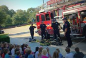 Talking to the kids about fire safety