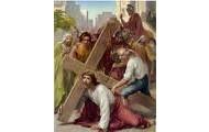 3.Pan Jezus upada pod krzyżem po raz pierwszy