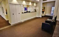 First Class Reception Area