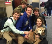 Ritz the Drug Dog Stopped by the High School