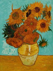 Les Tournesols - Un bon example que l'influence de l'Art de Van Gogh