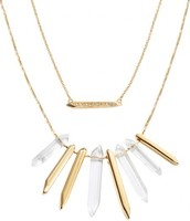 REBEL CLUSTER NECKLACE - $79 (comes in silver or gold)