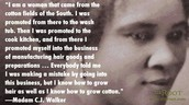 Madam C.J Walkers traits