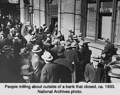 Closed Bank Outrage