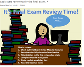 Final Exam Review Discussion