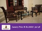 Luxury Price @Rs.2450/-per sft