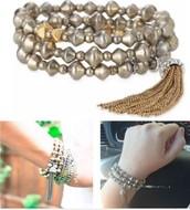 Milana Tassel Bracelet - Orig. $49, sale $20
