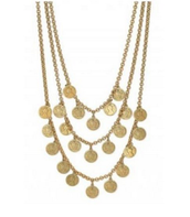 Rio Triple Coin Necklace