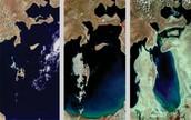 Het Aralmeer verkleint