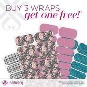 Buy 3 Wraps, Get 1 Free!