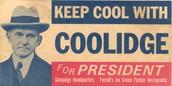 Coolidge always keeping cool