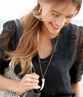 SOLD!!!!! Sahara Pendant necklace was $54 now $25!Perfect layering!