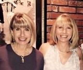 Susan Blake and Della Rose