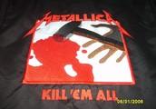 """Casaca Metallica """"Kill 'em all"""""""