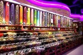 We Are Freddy's Candy Store here to serve you and your family and friends