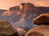 Large mountain