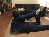 Pose 5(Bow right leg)