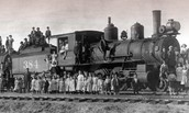What was the Orphan Train?